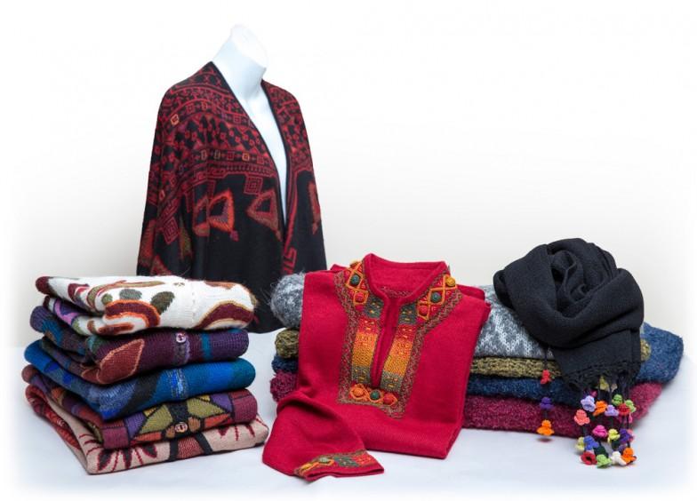 Exportacion de abrigos de alpaca