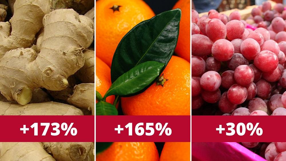 productos de agroexportación en crecimiento